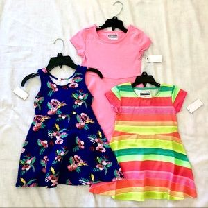 3 New Spring/Summer Dresses,  NWT, size XS (4/5)